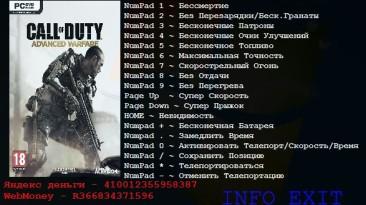 Call of Duty ~ Advanced Warfare: Трейнер/Trainer (+15) [1.5.0.12818] {Aleksander D}