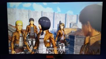 Геймплей английской версии Attack on Titan