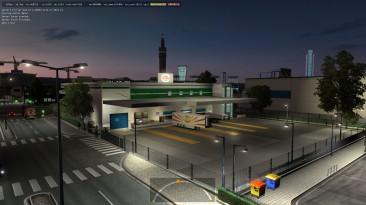 """Euro Truck Simulator 2 """"Новые Префабы Компаний Goodles logistik ETS2 1.35.x"""""""