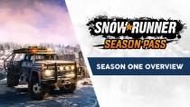 Прибытие первого сезонного пропуска в SnowRunner