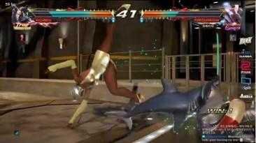 То что обычно делает любой ниндзя во время битвы с себе подобным.