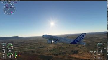 """Microsoft Flight Simulator """"Правильный звук для A320Neo"""""""