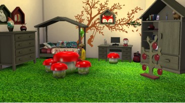 """The Sims 4 """"Bedroom Forest"""""""