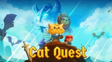 Двухмерная RPG с открытым миром Cat Quest анонсирована для Switch