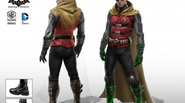"Batman: Arkham City ""Damian wayne skin mod"""