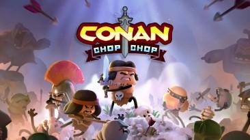 """Конан на тонких ножках - трейлер мультяшного """"рогалика"""" Conan Chop Chop"""