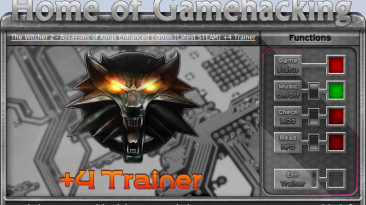 The Witcher 2 - Assassins of Kings Enhanced Edition: Трейнер/Trainer (+4) [Latest STEAM] {sILeNt heLLsCrEAm / HoG}