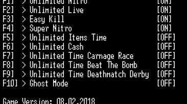 FlatOut Ultimate Carnage: Трейнер/Trainer (+10) [Steam] {LIRW / GHL}