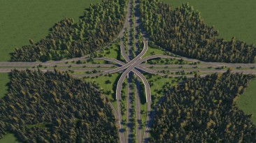 "Cities XXL ""XXL Realistic Highway Mod"""