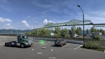 American Truck Simulator 1.40: точки обзора Нью-Мексико и Орегона