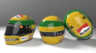"""F1 2012 """"Ayrton Senna Helmet"""""""