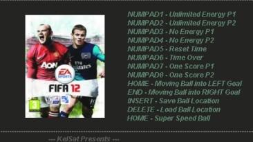 FIFA 12: Трейнер (+5) [1.0] {KelSat}