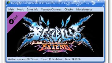 BlazBlue: Continuum Shift Extend: Трейнер/Trainer (+4) [1.0] {h4x0r}