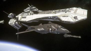 Новое видео Star Citizen о массивном корабле; Краудфандинг достиг 371 млн. долларов