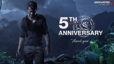 Uncharted 4: A Thief's End празднует 5-летний юбилей. В игру сыграло 37 млн. человек