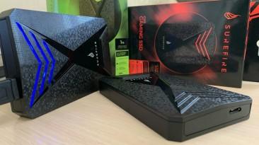 Обзор внешних дисков Verbatim Surefire GX3 gaming - самый быстрый на диком западе
