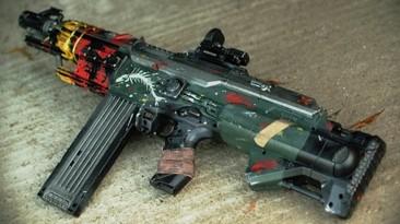 Пушка из Brink в реальности