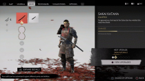 В сеть слили геймплей и скриншоты древа умений и интерфейса Ghost of Tsushima