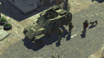 """ATOM RPG """"BTR-40M"""""""