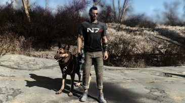 """Fallout 4 """"GPG's Mass Effect N7 Gear and Goodies / Одежда с логотипом Mass Effect N7"""""""