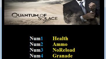 Quantum of Solace: The Game: Трейнер/Trainer (+5) [1.0] {Abolfazl.k}