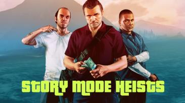 "Grand Theft Auto 5 ""Story Mode Heists 1.2.1"""