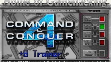 Command & Conquer 4 - Tiberium Twilight: Трейнер/Trainer (+8) [1.3/1.5.3749] {HoG/sILeNt heLLsCrEAm}