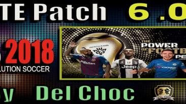 "PES 2018 ""PTE Patch 2018 UnOfficial 6.0 Season 2018/2019"""