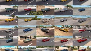 "American Truck Simulator ""Пак американской классики в траффик v5.6"""