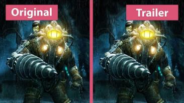 Графика в Bioshock 2 - оригинал vs переиздание