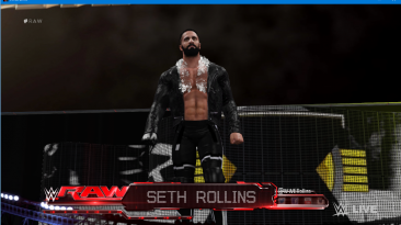 "WWE 2K16 ""Seth Rollins Money in the Bank 2020 Наряд WWE 2K19 Порт Мод"""