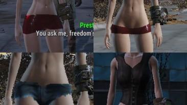"""Fallout 4 """"Тело модели"""""""