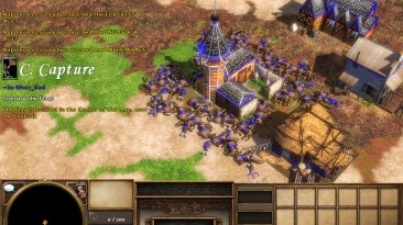 """Age Of Empires 3: The Asian Dynasties """"Карта - Custom Part 1 Capture The Flag"""""""