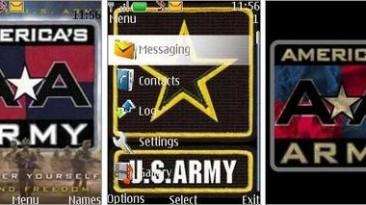 """Americas Army """"Theme for Nokia s40 240x320"""""""