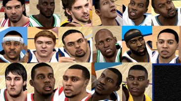 """NBA 2K10 """"Cyber Faces Pack """""""