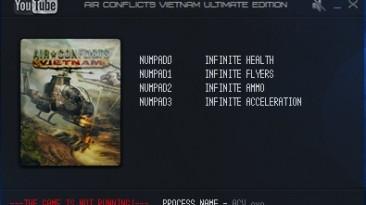 Air Conflicts: Vietnam Ultimate Edition: Трейнер/Trainer (+4) [1.0] {LIRW / GHL}