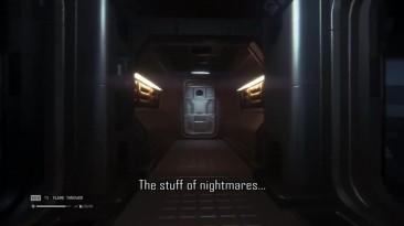 """Alien Isolation """"очень страшная дверь"""""""