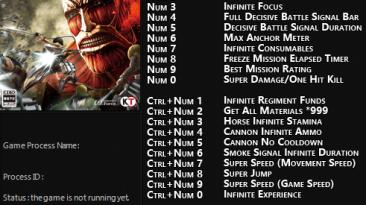 Attack on Titan: Трейнер/Trainer (+22) [1.0] {FLiNG}