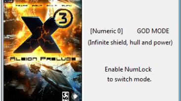 X3: Albion Prelude: Трейнер/Trainer (+3) [3.1] {Helmut}