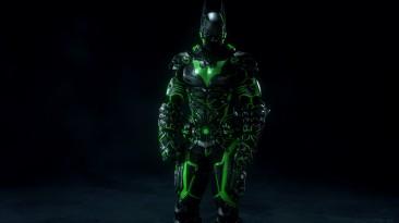 "Batman: Arkham Knight ""Batman Beyond Tron Skin (Green) (Зелёный)"""