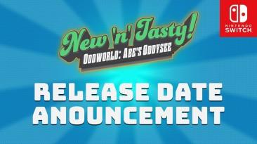 Oddworld: Abe's Oddysee New N' Tasty! выйдет на Switch 27 октября