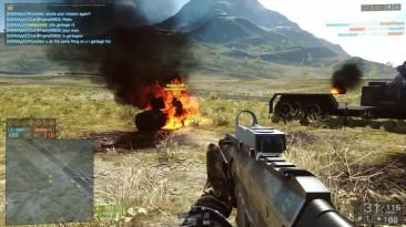 Сбил вертолёт с 400 метров в Battlefield 4!