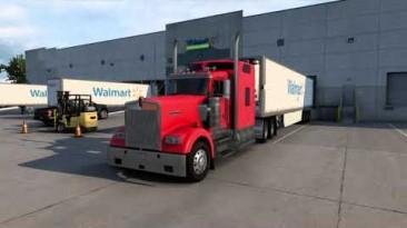 "American Truck Simulator ""Новые двигатели и звуки Detroit Diesel 60 Series прямоток v3.5 (1.41.x, 1.42.x)"""