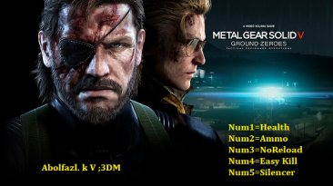 Metal Gear Solid 5: Ground Zeroes: Трейнер/Trainer (+5) [1.0] {Abolfazl.k}
