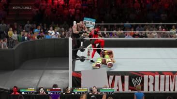 "WWE 2K15 ""LUCIUS побеждает 29 противников (Royal Rumble 30 MAN)"""
