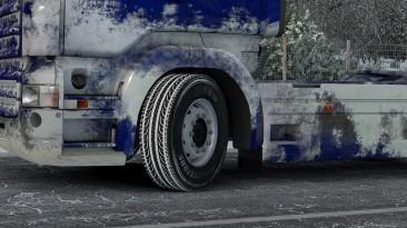 "Euro Truck Simulator 2 ""Snowy Bridgestone Tire"""