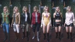 """Resident Evil 2 """"Набор костюм Бекка Вуллет на основе RE0"""""""