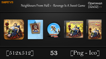 """Neighbours From Hell: Revenge Is A Sweet Game """"Иконки (ArtGamer)"""""""