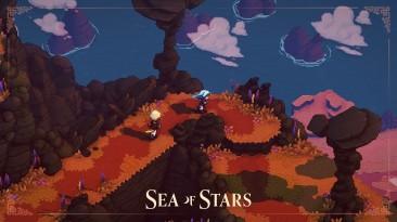 Геймплейный тизер грибной пещеры в Sea Of Stars