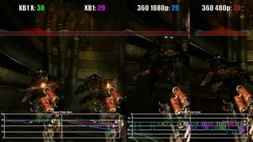 Prey (2006) Xbox One X vs Xbox One vs Xbox 360 Частота кадров
